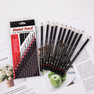 12pc 2H-8B Graphite Sketch Pencil Sketching Drawing Set