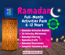 Load image into Gallery viewer, Ramadan Full-Month Activity Pack (6-12 Years)