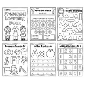 Pre-Schoolers Full-Year Learning Pack