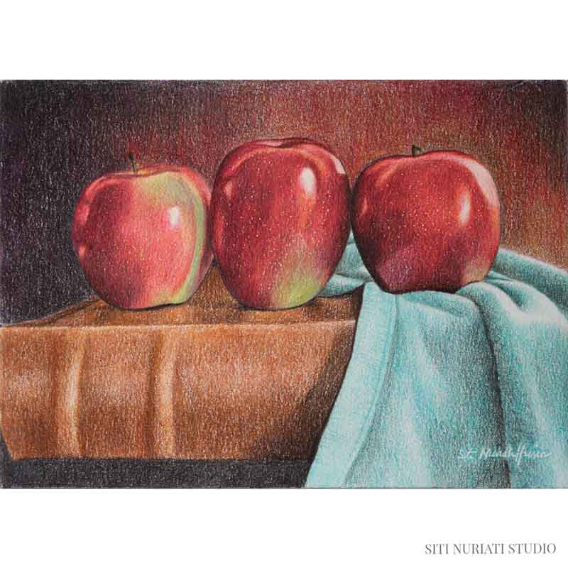 Red Apples Original Painting