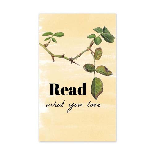 Read What You Love Corner Bookmark