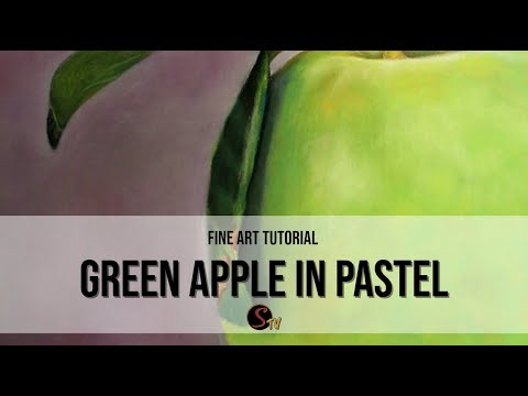 Green Apple Original Painting