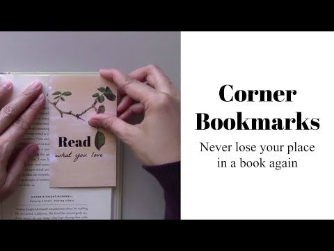 Don't Read and Drive Corner Bookmark