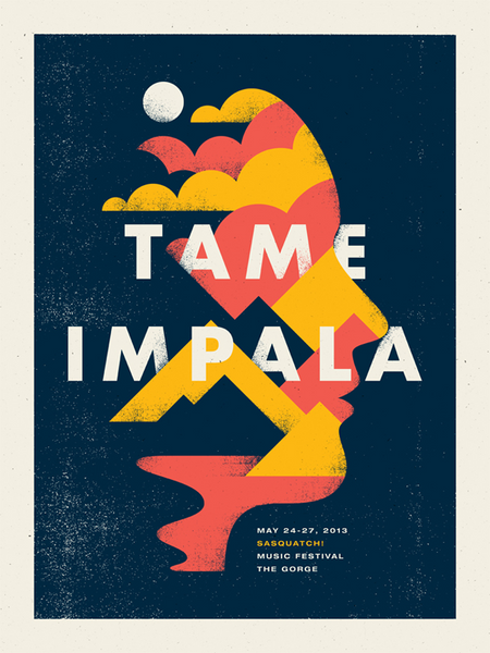Tame Impala Show Poster