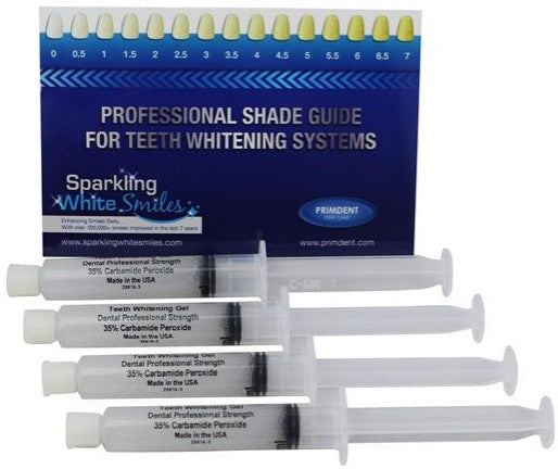 EXTRA FAST ACTING 35% PROFESSIONAL DENTAL STRENGTH TEETH WHITENING GEL