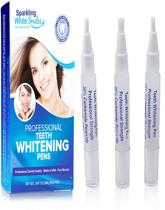 3 PACK - EXTRA FAST ACTING 35% TEETH WHITENING PENS - SHIPS FREE