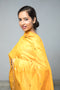 Chanderi Mercerised Silk Dupatta in Bright Gold