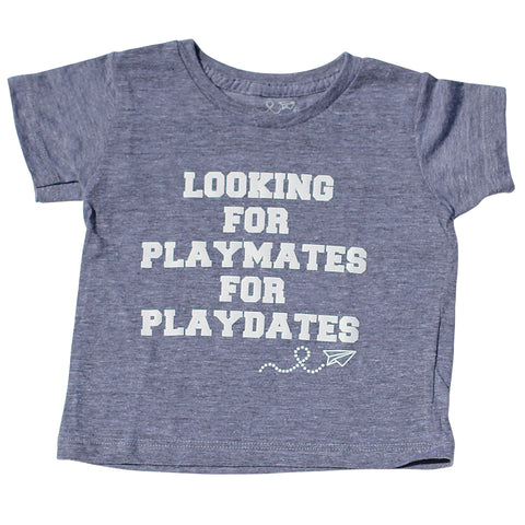 playmates for playdates tee