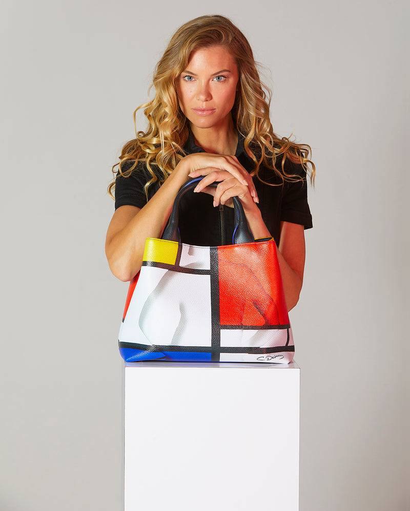 """Mondrian"" Small Handbag"