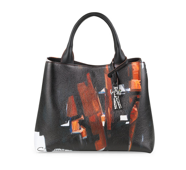 """Soulages"" Small handbag"