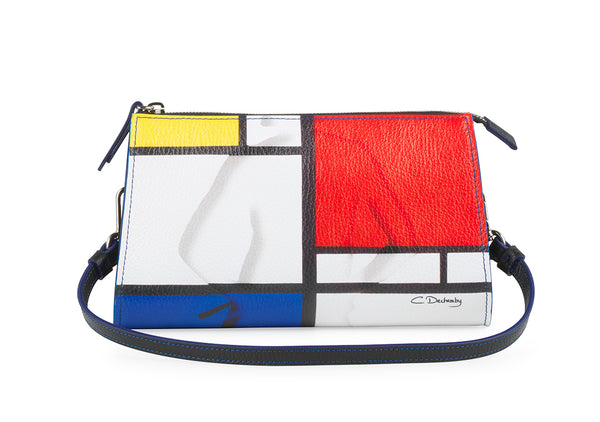 """Mondrian"" Small Shoulder Bag"