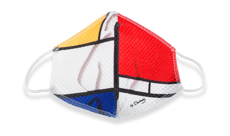 """Mondrian"" Face Mask"