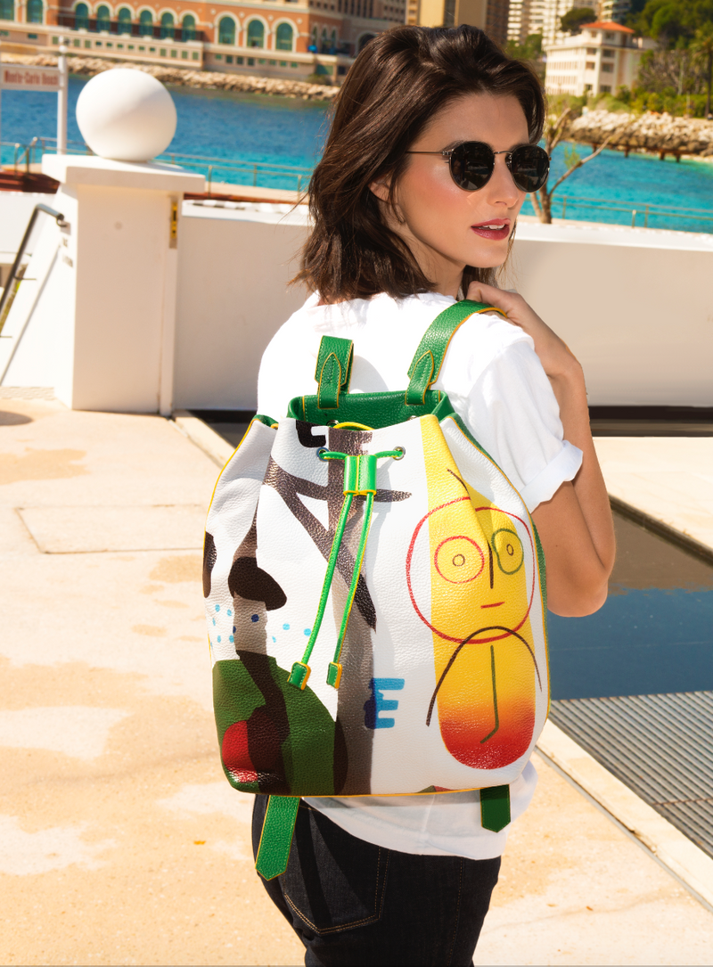 """Sunny face"" Backpack"