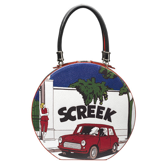 """Screek"" Round bag"