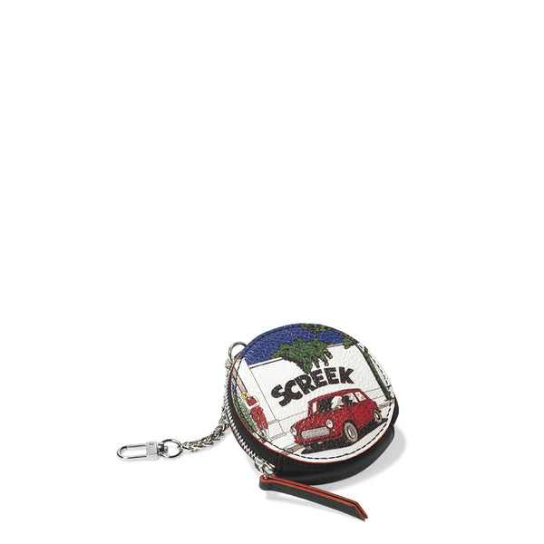 """Screek"" Round purse"