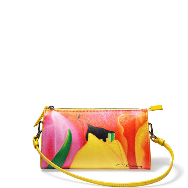 """Mon Jardin"" Little shoulder bag"