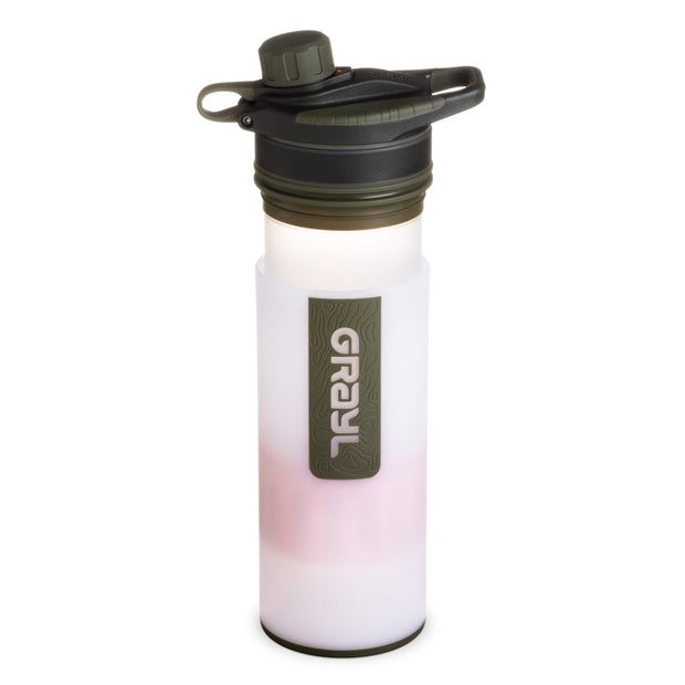 GRAYL® GEOPRESS™ Water Purifier Bottle | Pressing- Alpine White