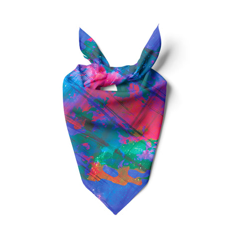 Abstract Scratch Bandana