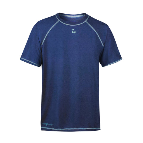 High Perf Raglan Navy Sport Shirt