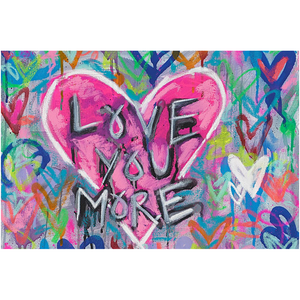 Love You More Acrylic