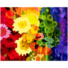 Load image into Gallery viewer, Rainbow Flower Acrylic