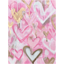 Load image into Gallery viewer, Pink Hearts Acrylic