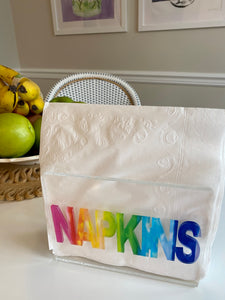 Rainbow Napkin Holder PRE-SALE
