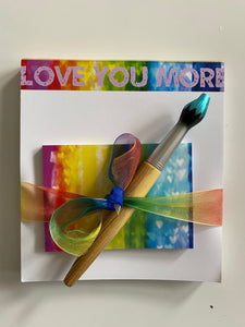 Love You More Notepad Set