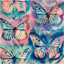 Load image into Gallery viewer, Tie Dye Butterflies Acrylic