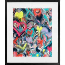 Load image into Gallery viewer, Electric Hearts Print