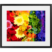 Load image into Gallery viewer, Rainbow Flowers Print