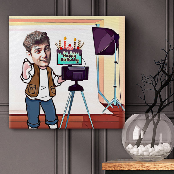 Best photographer Set for Wall and Home Wall Art Pictures --Happy Birthday