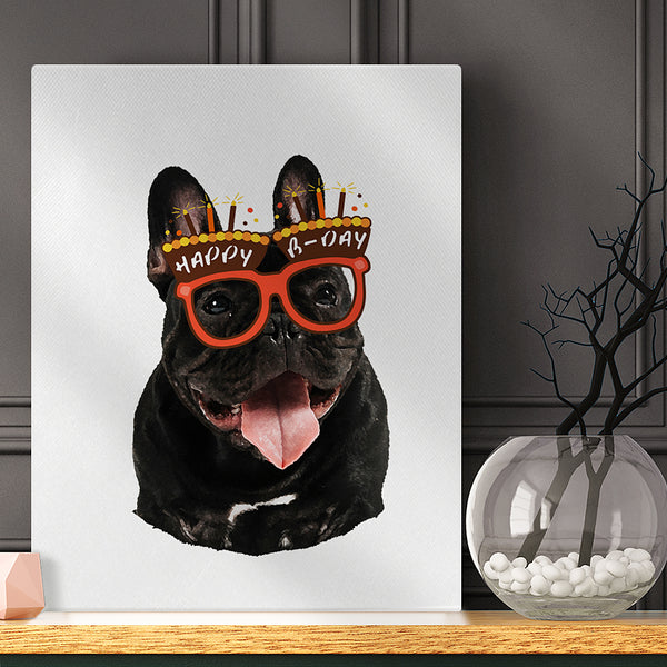 Pet Decor Birthday Paintings Home Decoration Photo Canvas