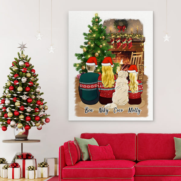 Custom Canvas Vertical - Christmas Art Prints