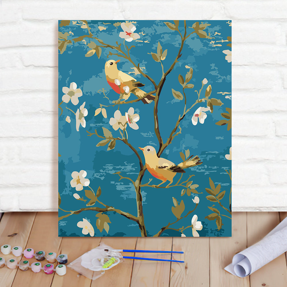 DIY Paint By Numbers Custom Photo Painting Home Decor Wall Hanging-Annunciation Bird-3 Painting