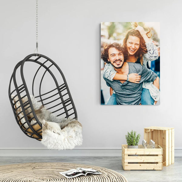 Custom Wall Decor Painting Photo Canvas - For Couple (3 Sizes)  No Frame