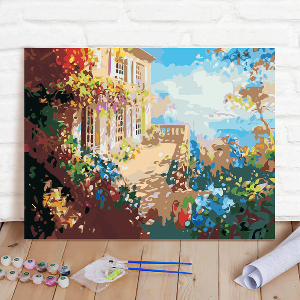 DIY Paint By Numbers Custom Photo Painting Home Decor Wall Hanging-Sea view room Painting