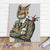 DIY Paint By Numbers Custom Photo Painting Home Decor Wall Hanging-Mr Fox Painting