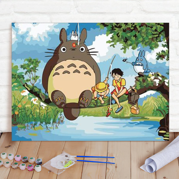 DIY Paint By Numbers Custom Photo Painting Home Decor Wall Hanging-Wise Man Happy Painting