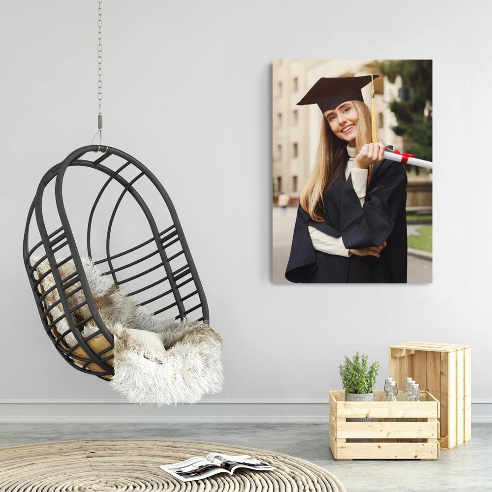 Custom Canvas Wall Decor Painting - Best Gift Idea With Your Photo  No Frame