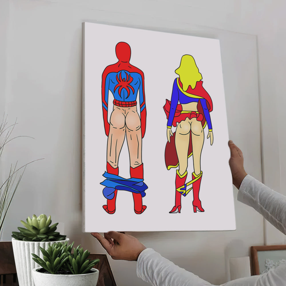 Super Hero BUTTs (Online Design & Preview)