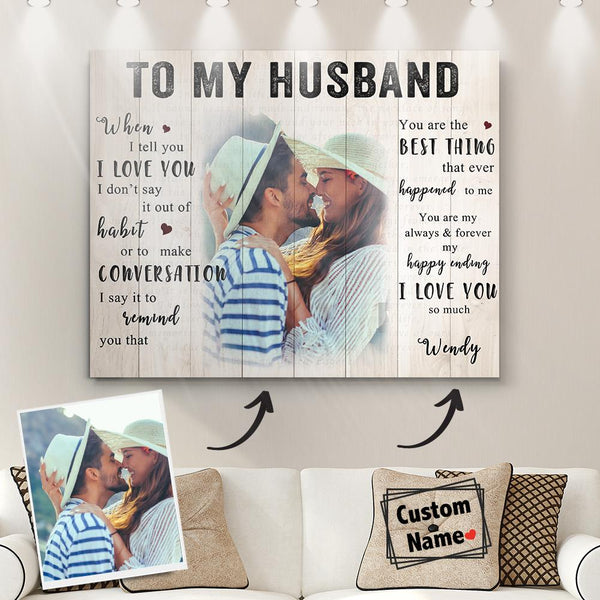 Lover Custom Wall Decoration Canvas With Frames