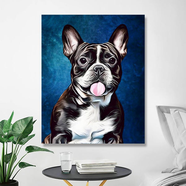 Custom Anime Pet Photo Wall No Frame