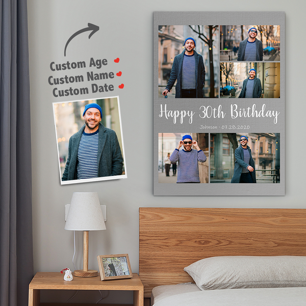 Personalized Photo to Canvas Wall Art - Put Your Picture on a Canvas