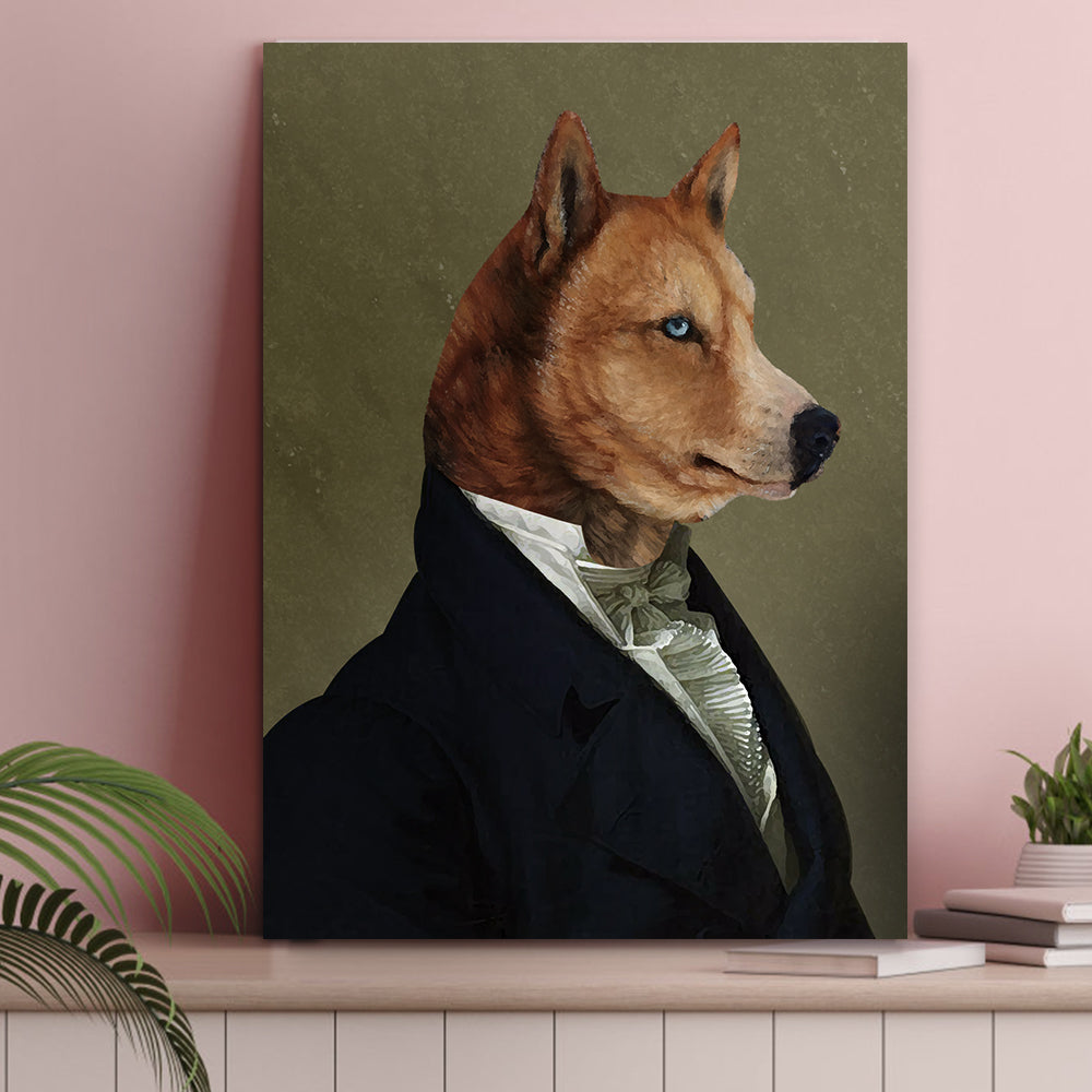 Custom Pet Cat Canvas - The Ambassador