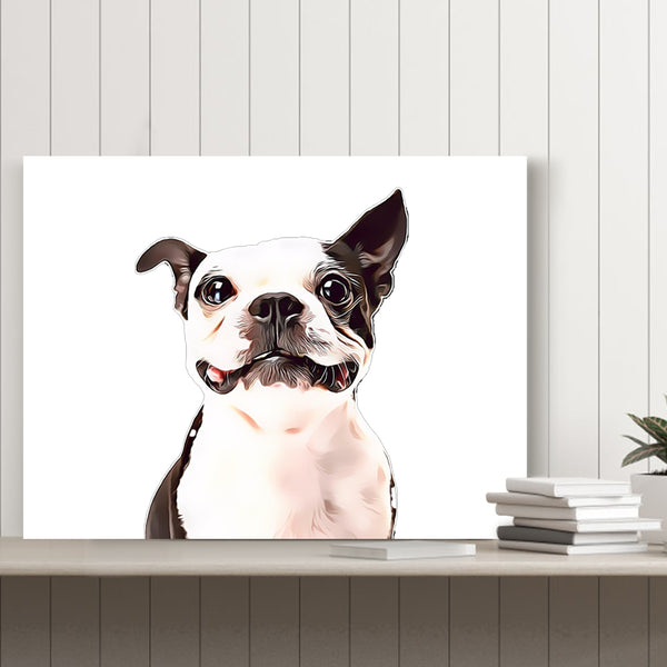 Custom Pet Canvas-Custom Canvas Print
