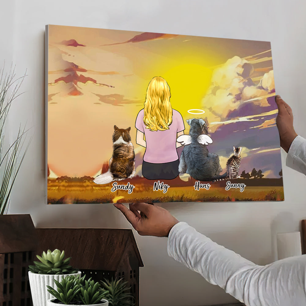 Custom Pet Canvas - A Wonderful Gift Of Time