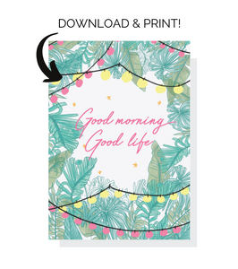 GATLUW 5x7 Holiday Card *DIY Instant Download!*