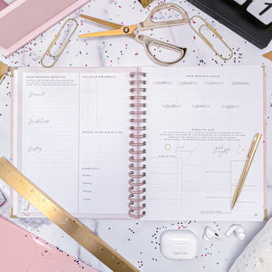 BRAND NEW!! Good Morning, Good Life: 12 Month Planner