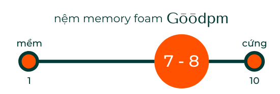 Leesa Original Mattress Comfort Graphic
